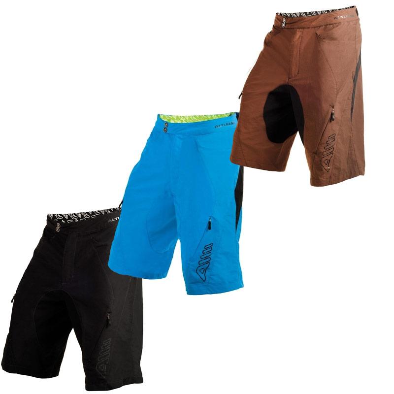 altura mens baggy cycling shorts