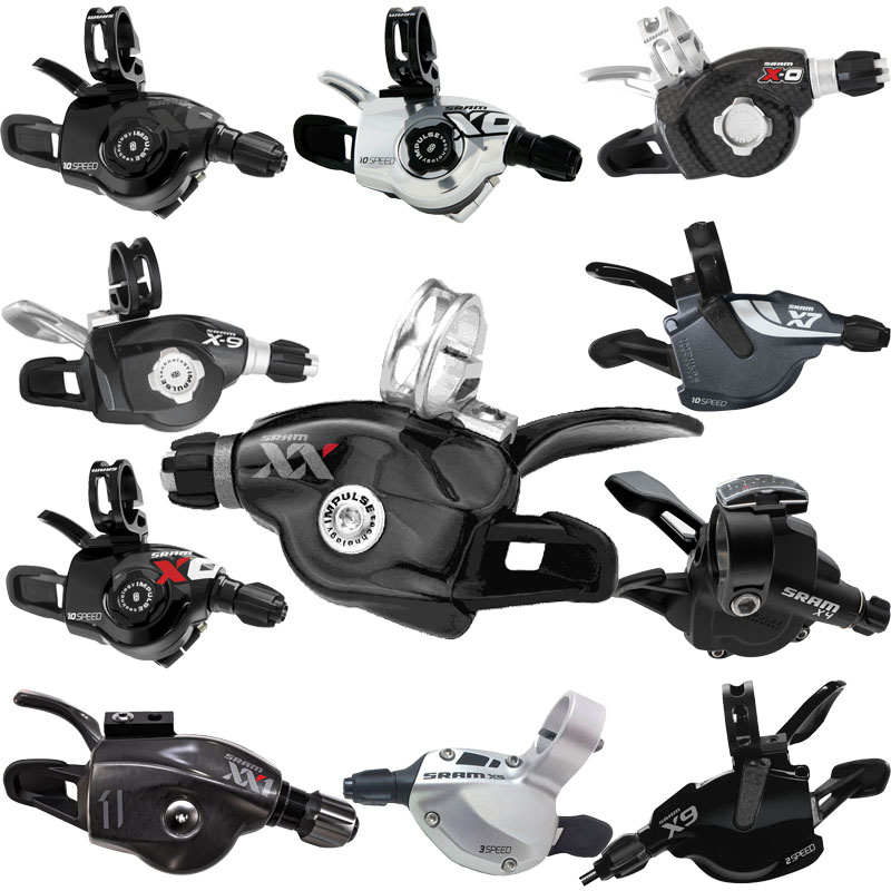 Sram-1-1-MTB-XC-DH-Bike-Index-Gear-Trigger-Shifter-Lever-Front-Rear-Full-Range