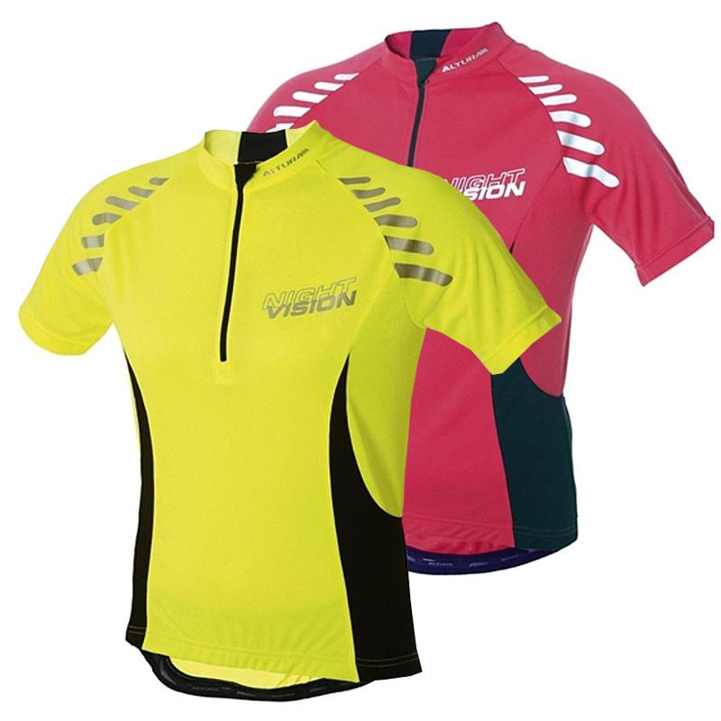 New-Altura-Womens-Night-Vision-Road-Bike-MTB-Summer-Short-Sleeve-Cycling-Jersey