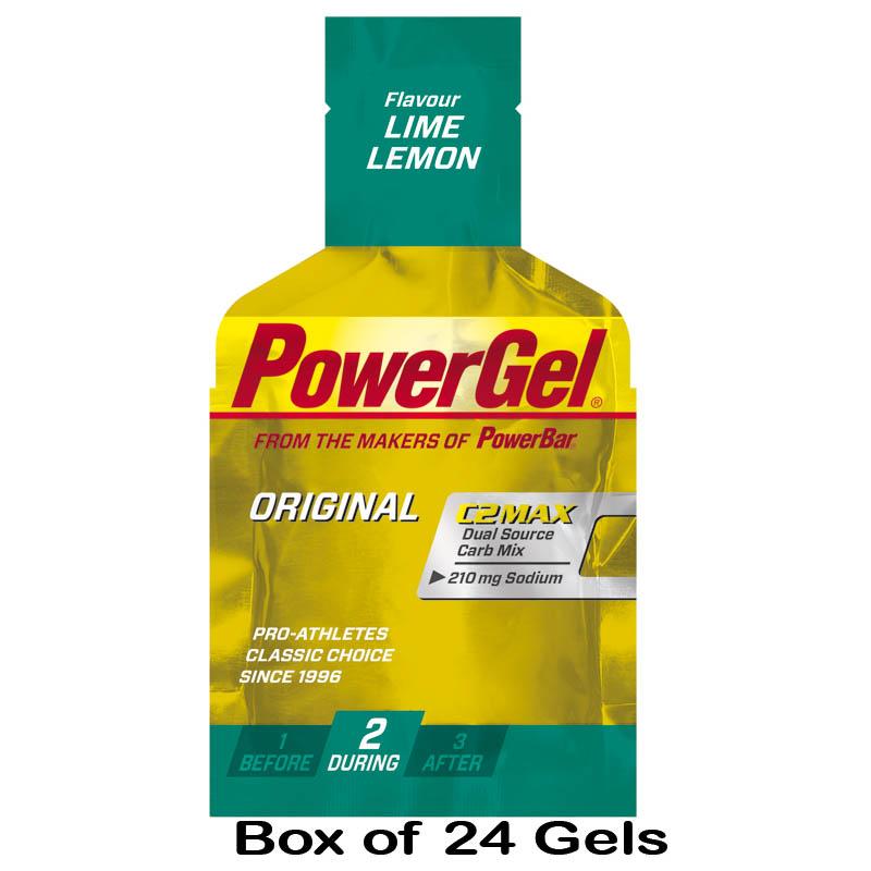 2013 Powerbar PowerGel Original Box of 24 Cycling Sports Carboydrate Energy Gels | eBay