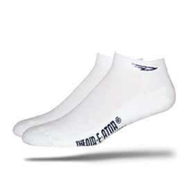 DeFeet XC Speede bike cycle MTB Socks White Mens XL
