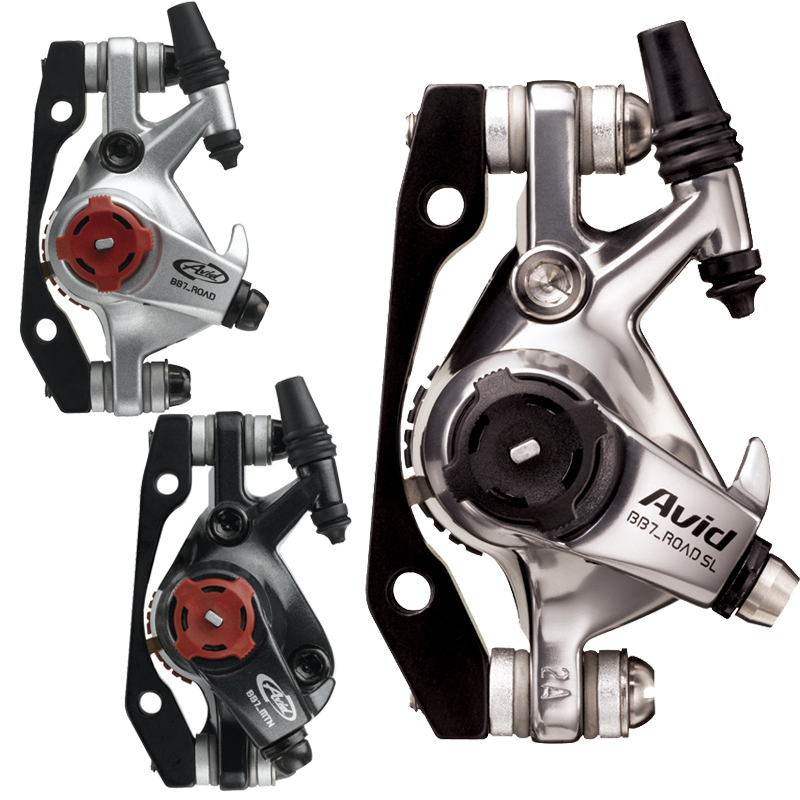 Avid-BB7-Road-MTB-Bike-Cable-Actuated-Mechanical-Disc-Brake-Caliper-G2-HS1-Rotor