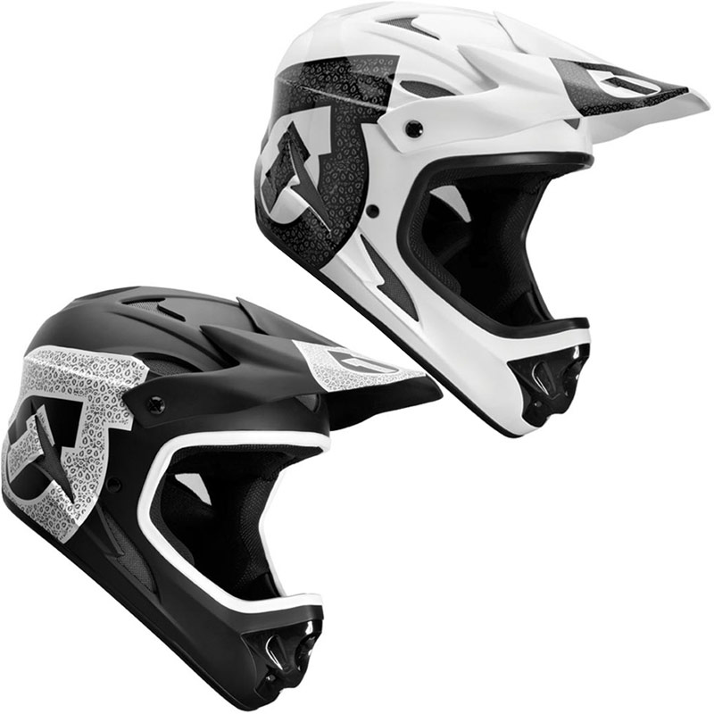 sixsixone 661 comp full face mtb bmx dh bike crash helmet. Black Bedroom Furniture Sets. Home Design Ideas