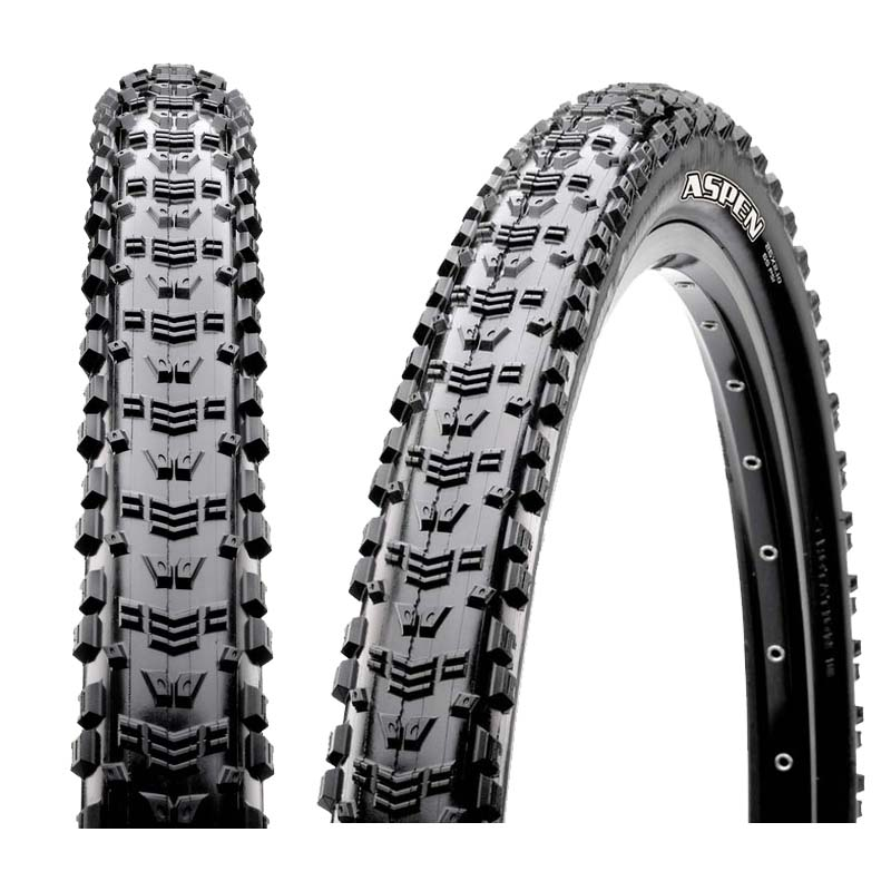Maxxis-ASPEN-Tyre-MTB-Bike-Race-XC-Trail-Lite-Dry-AM-Black-27-5-X-2-10-WIRE