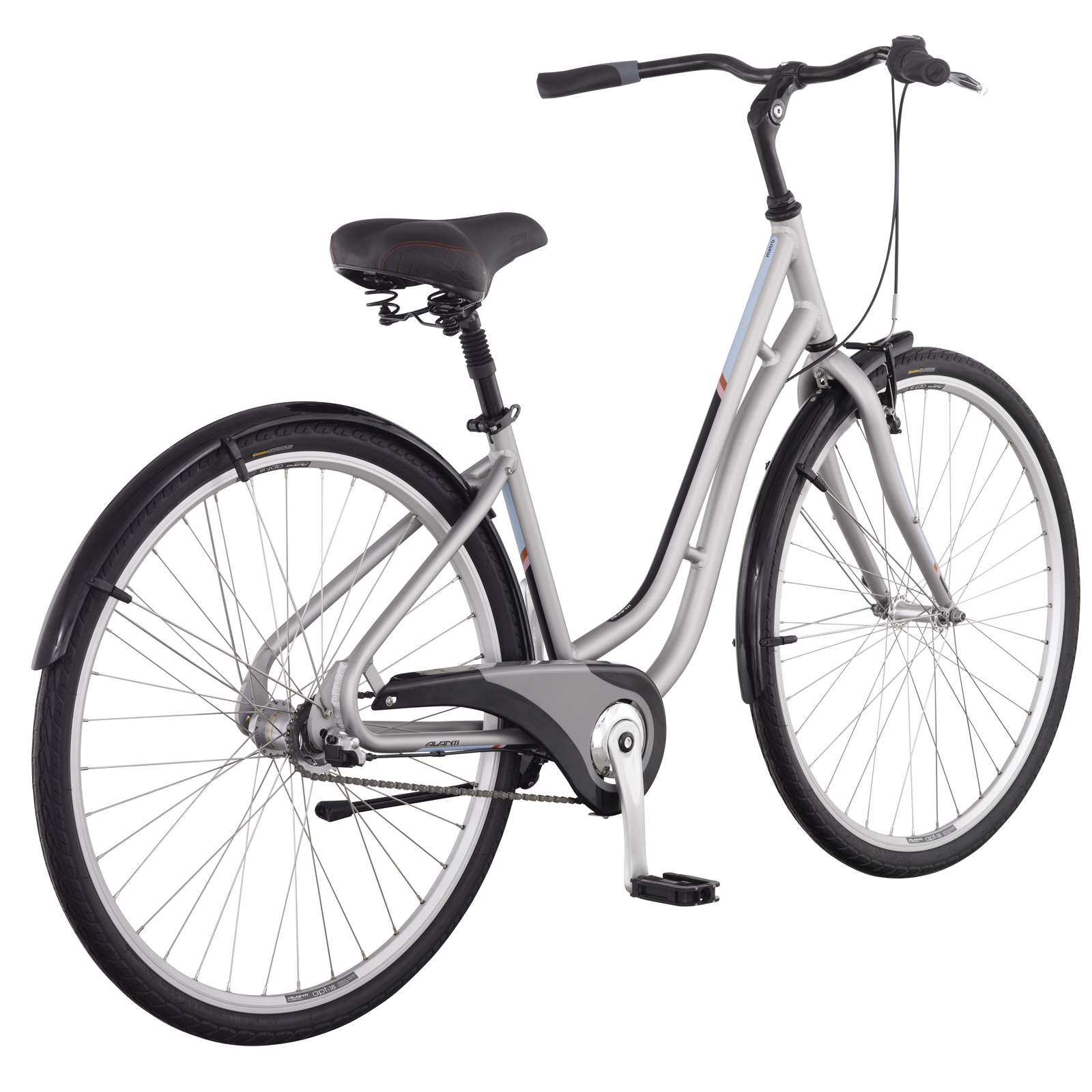 New-Avanti-Mens-Metro-2-Urban-Town-Commuter-Road-Cycle-Comfort-Bike-Silver