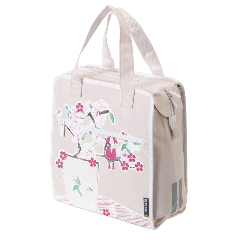 Basil-Ladies-Womens-Blossom-Single-Pannier-Bike-Shopper-Shopping-Shoulder-Bag