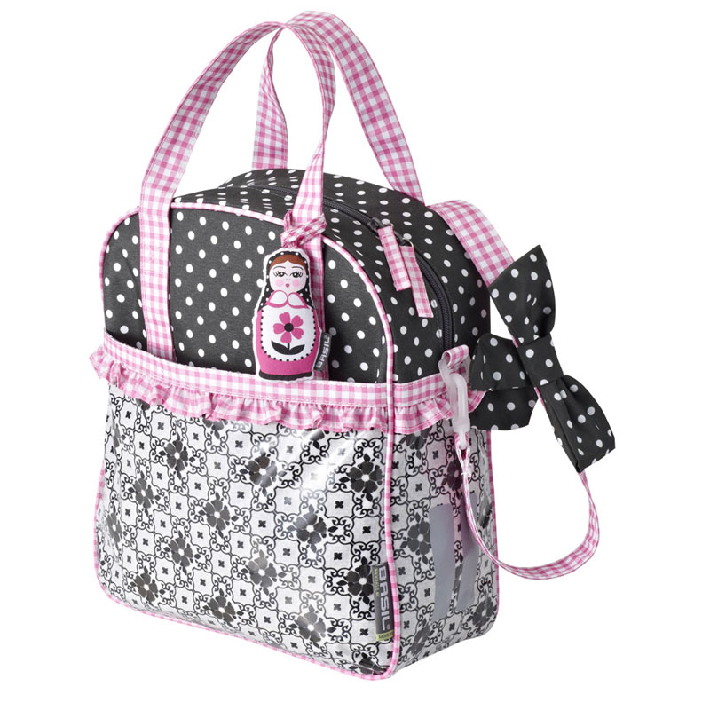 Basil-Kids-Girls-Jasmin-Shopper-Single-Bike-Bicycle-Pannier-Bag-Shopping-Handbag