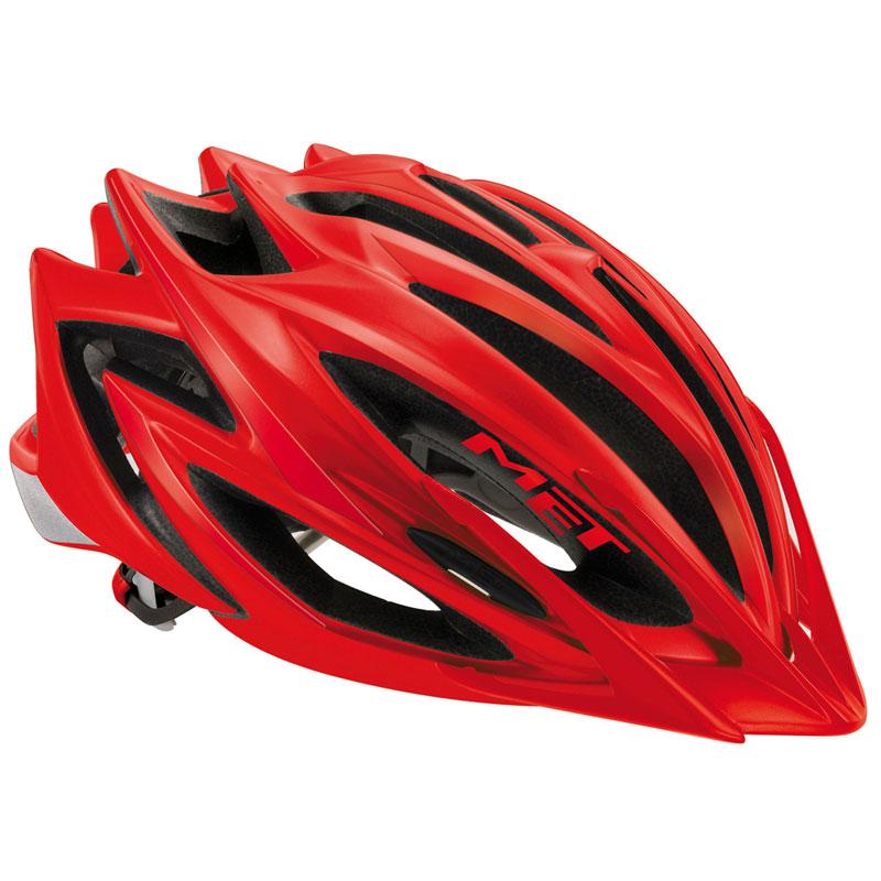 MET Veleno MTB Helmet Matt Red Large 58-60cm Bike Bicycle Bike Bicycle