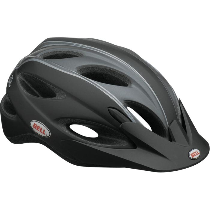 bell piston herren radsport fahrradhelm helm matt schwarz. Black Bedroom Furniture Sets. Home Design Ideas