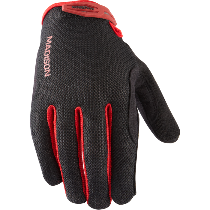 Madison Flux Xc Women's Gloves Black Medium Cycling MTB Road Bike 2012 Enlarged Preview