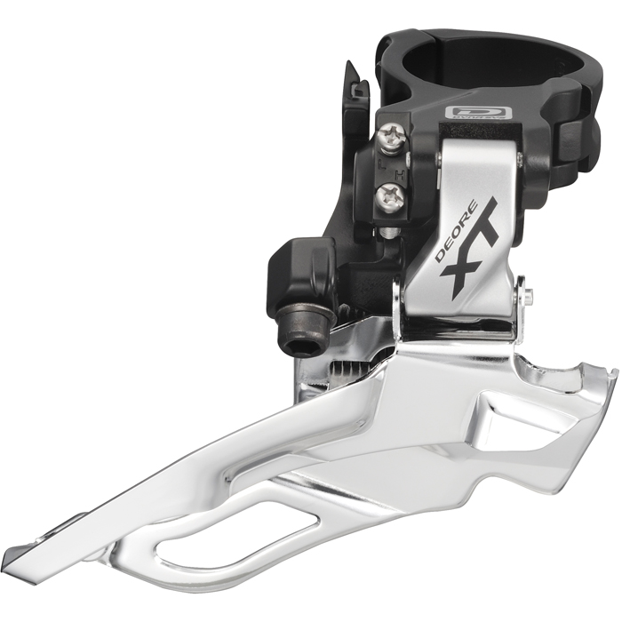 Shimano Deore XT FD-M781 XT 10-speed triple front derailleur, conventional swing Enlarged Preview