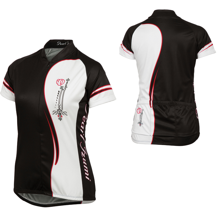 Pearl-Izumi-Womens-Cycling-Bike-Select-Ltd-Ss-Jersey-Half-Black-Size-Xsmall