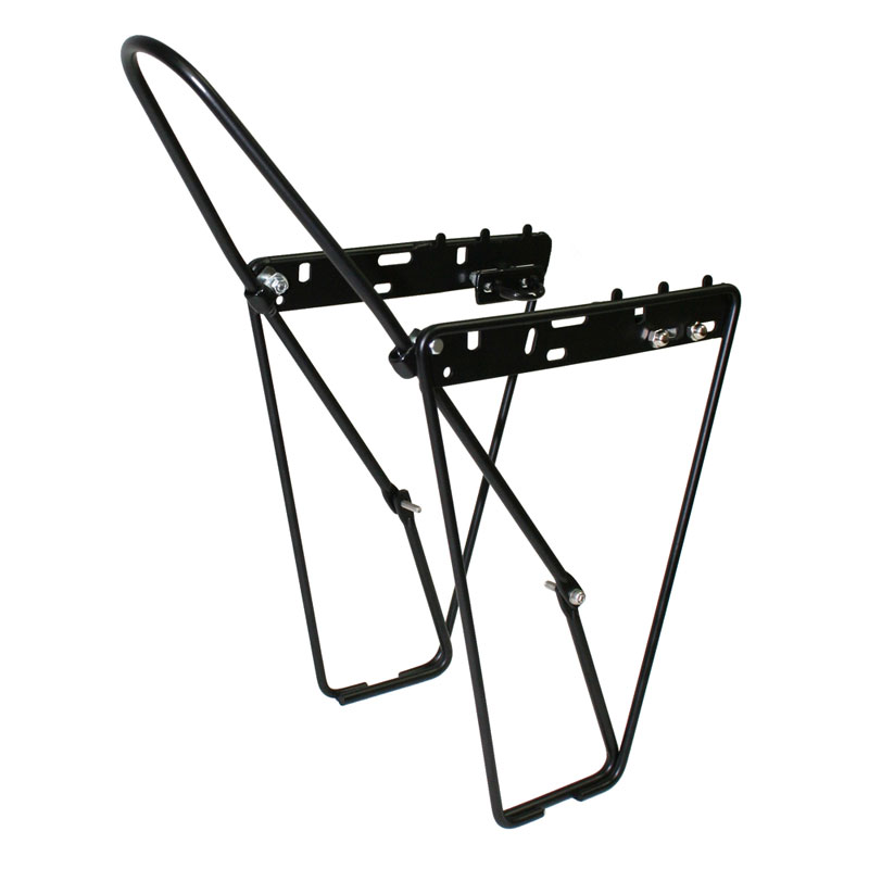 Vavert-Cycling-Bicycle-Low-Rider-Front-Carrier-Pannier-Rack-Black