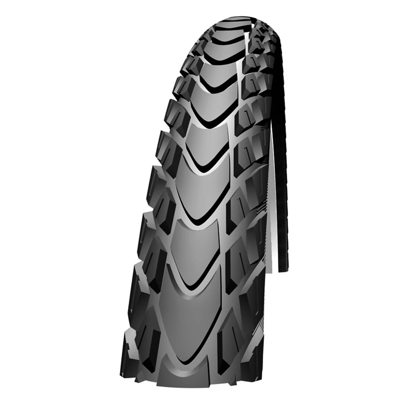 Schwalbe Marathon Mondial 26x2.10 Evo Folding Tyre Tire TravelStar TL Ready Enlarged Preview