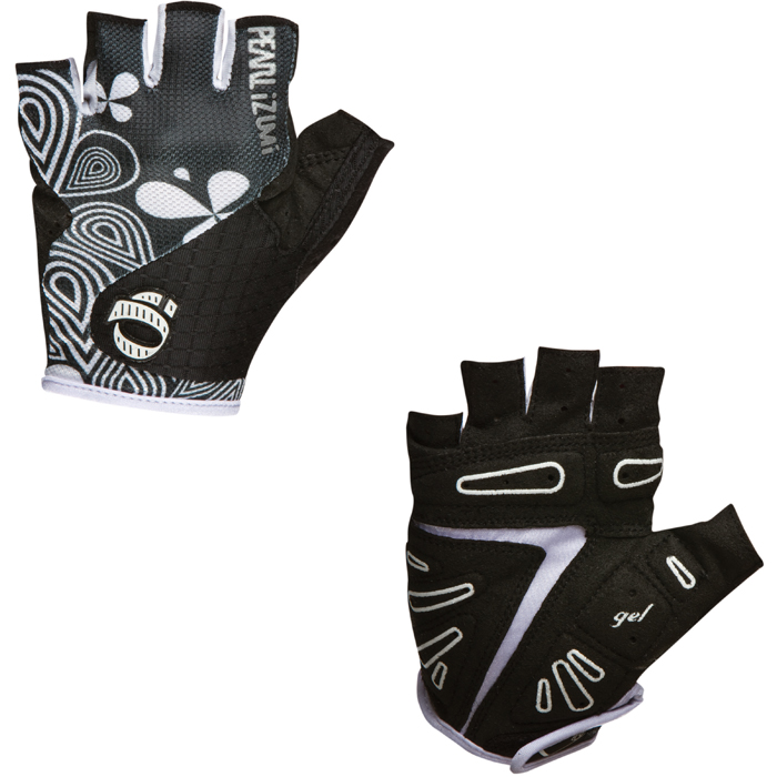 Pearl Izumi 2012 Women's Select Gel Bike Cycling Mitt Gloves Black LARGE Enlarged Preview