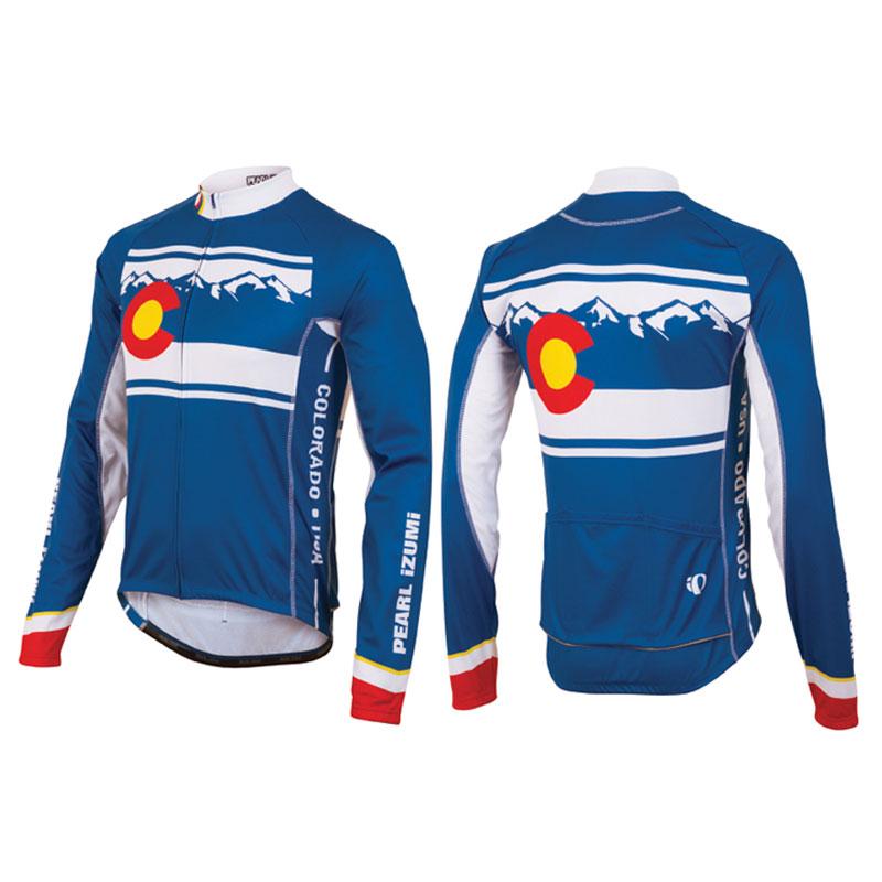 Ups tracked pearl izumi mens elite thermal ltd road bike for Pearl izumi cycling shirt