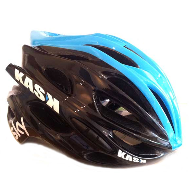 KASK Mojito Road Bike Official Team Sky Cycle Helmet Blue & Black