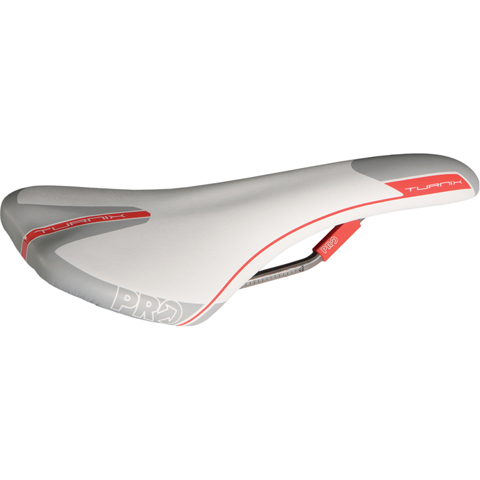 PRO-Turnix-Road-Bike-Saddle-Carbon-Ti-Rail-Regular-Anatomic-Fit-132-142mm