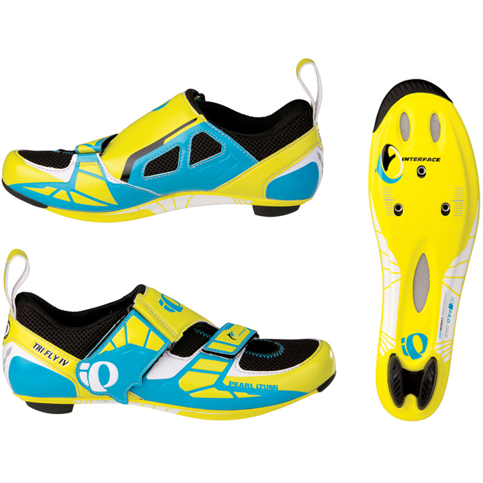 2013-Pearl-Izumi-Mens-Tri-Fly-IV-Carbon-Triathlon-SPD-SL-Cycling-Road-Bike-Shoes