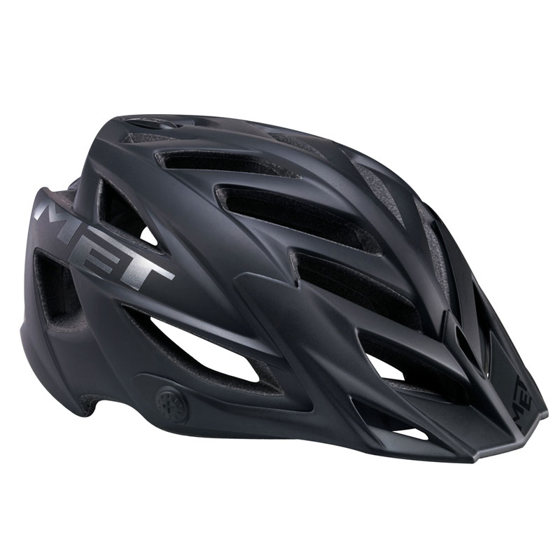 MET Terra MTB Mountain Bike Helmet Black Universal Fit 54-61cm 2012 Enlarged Preview