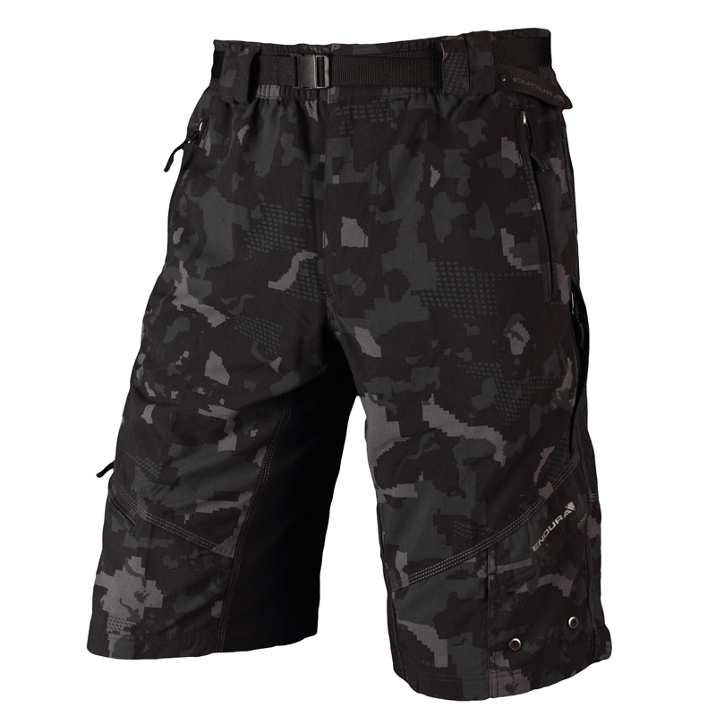Endura Hummvee Shorts XC AM Bike (With Clickfast Liner) Camo M 2012