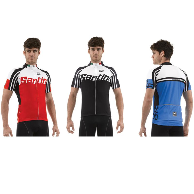New-Santini-Mens-Zest-Full-Zip-Road-Bike-Cycling-Short-Sleeve-Summer-Jersey-Top