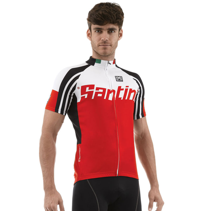 New-Santini-Mens-Zest-Full-Zip-Road-Bike-Cycling-Short-Sleeve-Summer-Jersey-Top