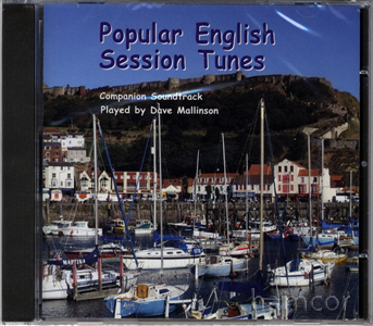 Popular English Session Tunes CD Companion Soundtrack for Sheet Music Book Enlarged Preview