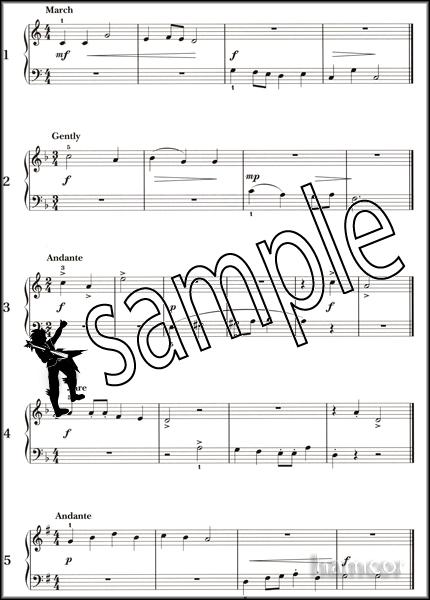 piano sight reading tests grade 1 abrsm sheet music new ebay. Black Bedroom Furniture Sets. Home Design Ideas
