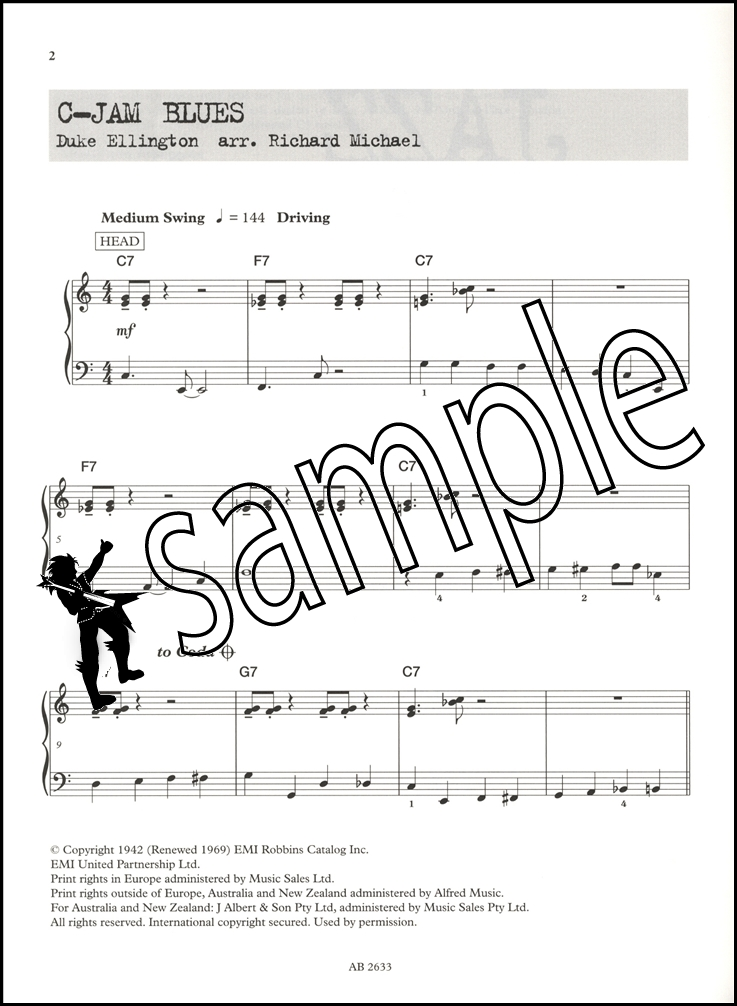 PDF Jazz Abrsm Jazz Piano Pieces Grade 1 - Free Download PDF