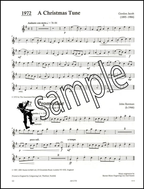 Time Pieces for E flat Saxophone Vol 1 Grades 1-3 ABRSM Alto Sax ...