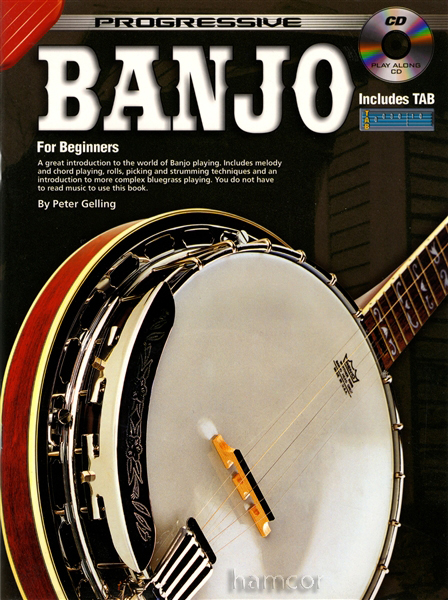 Progressive Banjo for Beginners Learn How to Play TAB Tutor Method Book CD : eBay