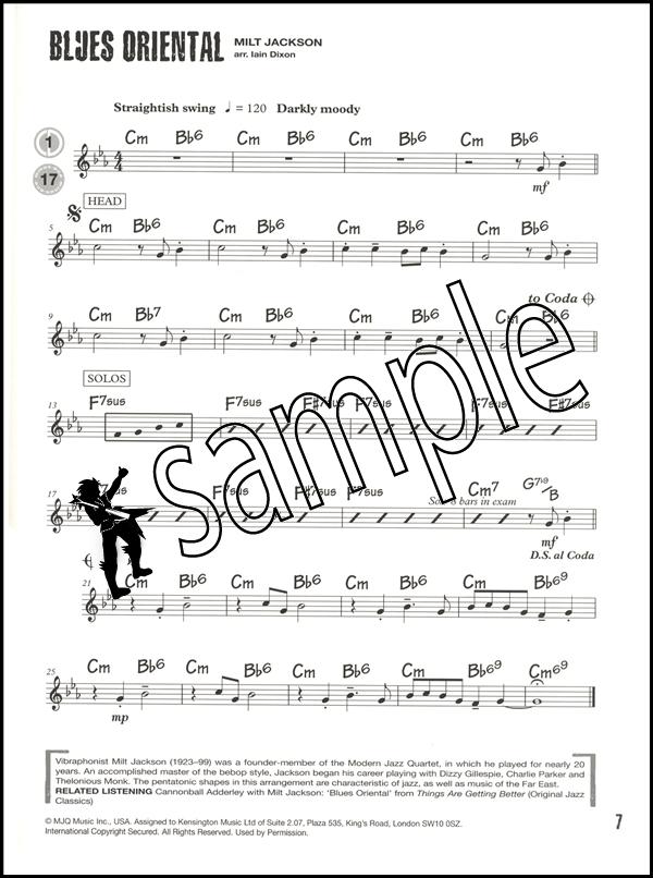 music 1 sheet sample