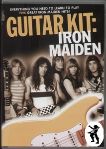 Iron Maiden Guitar Kit Learn to Play DVD + TAB + CD NEW Enlarged Preview