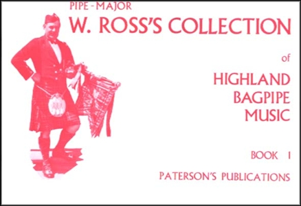 Ross Collection of Highland Bagpipe Music Book 1 NEW Enlarged Preview