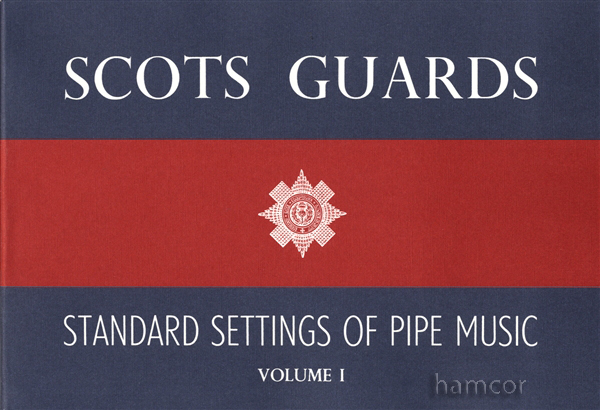 Scots Guards Standard Settings of Pipe Music Volume 1 Bagpipe Sheet Music Book Enlarged Preview