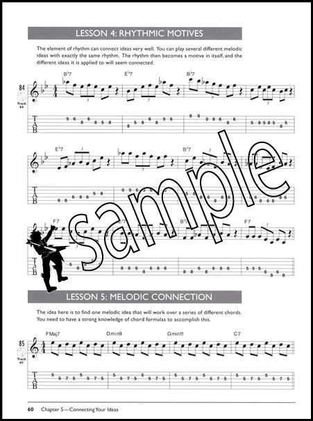 Mastering Jazz Guitar Improvisation Complete Method TAB Music Book/CD : eBay