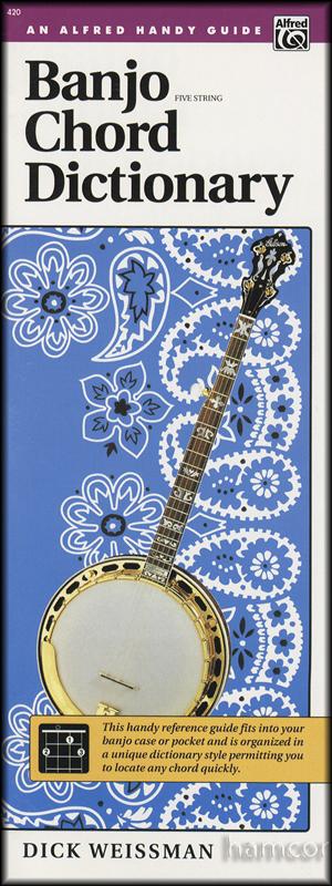 Banjo Chord Dictionary Handy Guide : Hamcor