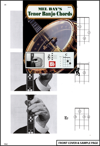Tenor Banjo Chords Picture Chord Book NEW Mandola : eBay