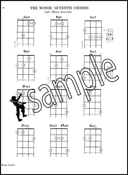 Mel Bayu0026#39;s Banjo Chords 5-String Banjo Picture Chord Book : eBay