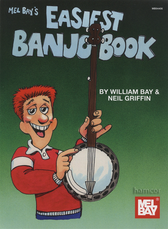 Easiest Banjo Book : Hamcor