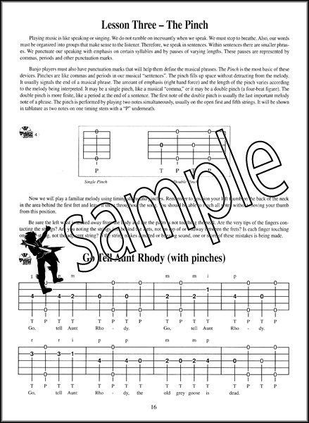 First Lessons Banjo 5-String TAB Tutor Book with CD Learn How to Play Method : eBay