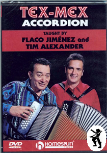 Tex-Mex Accordion Learn How to Play Tuition DVD NEW Enlarged Preview