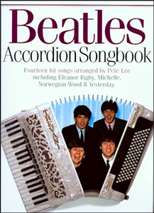 The Beatles Accordion Songbook Sheet Music Book NEW Enlarged Preview