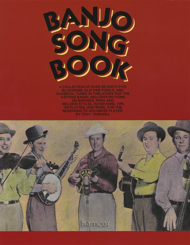 Banjo Song Book Tony Trischka 5-String Banjo TAB Music Book : eBay