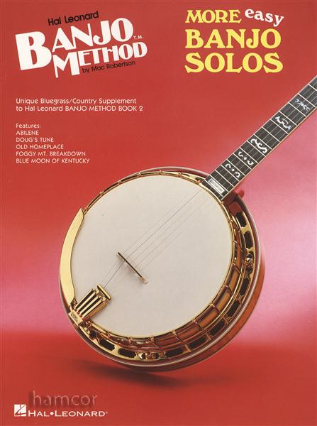 More Easy Banjo Solos 5-String Banjo TAB Music Book : eBay