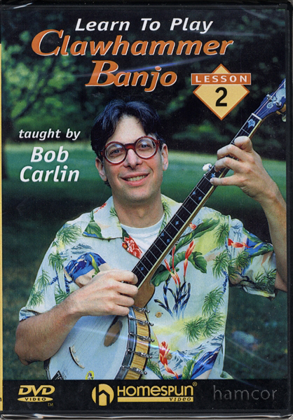 Learn To Play Clawhammer Banjo Bob Carlin DVD Lesson 2 Enlarged Preview