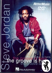 Steve Jordan The Groove Is Here Drum Tuition DVD NEW Enlarged Preview