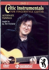 Celtic Instrumentals for Fingerstyle Guitar 2 DVD NEW Enlarged Preview