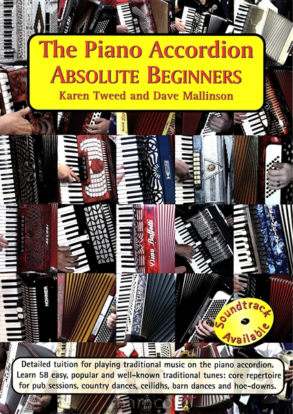 The Piano Accordion Absolute Beginners Karen Tweed Tutor Method Music Book Enlarged Preview